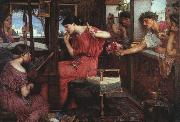 John William Waterhouse Penelope and the Suitors oil painting