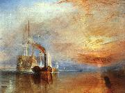 Joseph Mallord William Turner The Fighting Temeraire oil painting