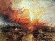 Joseph Mallord William Turner The Slave Ship oil painting