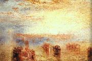 Joseph Mallord William Turner Approach to Venice oil painting