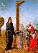 Juan de Flandes Christ and the Woman of Samaria oil painting
