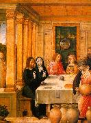 Juan de Flandes The Marriage Feast at Cana 2 oil painting