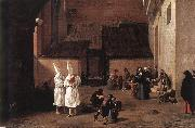 LAER, Pieter van The Flagellants sg oil painting