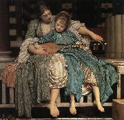 Lord Frederic Leighton Music Lesson oil painting