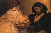 Lord Frederic Leighton Golden Hours oil painting