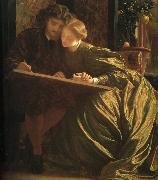 Lord Frederic Leighton The Painter's Honeymoon oil painting