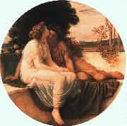 Lord Frederic Leighton Acme and Septimius oil painting