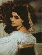 Lord Frederic Leighton Pavonia oil painting