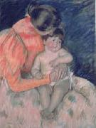 Mary Cassatt Mother and Child  gvv oil painting