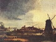 NEER, Aert van der Landscape with Windmill sg oil painting reproduction