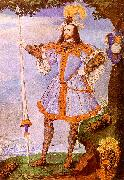 Nicholas Hilliard Portrait of George Clifford The Earl of Cumberland oil painting