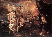 Nicolas Poussin Selene and Endymion oil painting