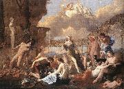 Nicolas Poussin The Empire of Flora oil painting