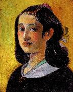 Paul Gauguin The Artist's Mother 1 oil painting
