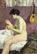 Paul Gauguin Study of a Nude oil painting