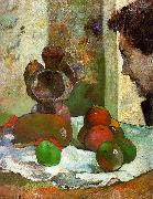 Paul Gauguin Still Life with Profile of Laval oil painting