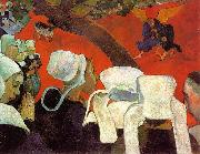 Paul Gauguin The Visitation after the Sermon oil painting