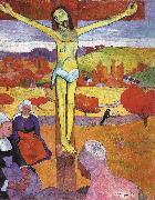 Paul Gauguin The Yellow Christ oil painting