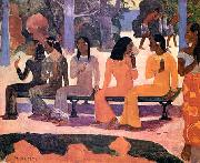 Paul Gauguin Ta Matete oil painting reproduction