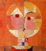 Paul Klee Senecio oil painting
