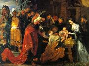 Peter Paul Rubens The Adoration of the Magi oil painting