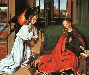 Petrus Christus Annunciation1 oil painting