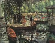 Pierre Renoir La Grenouillere oil painting reproduction