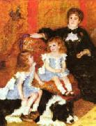 Pierre Renoir Madam Charpentier Children oil painting reproduction