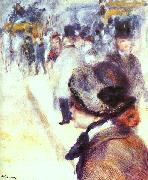 Pierre Renoir Place Clichy oil painting reproduction