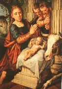 Pieter Aertsen The Adoration of the Shepherds oil painting