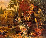 Pieter Gysels Garden oil painting reproduction