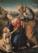 Raphael The Holy Family with a Lamb oil painting