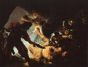 Rembrandt The Blinding of Samson oil painting reproduction