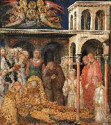 Simone Martini The Death of St.Martin oil painting