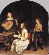 TERBORCH, Gerard The Concert sg oil painting
