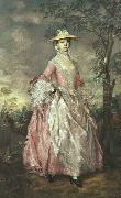 Thomas Gainsborough Mary, Countess Howe oil painting