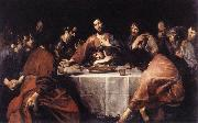 VALENTIN DE BOULOGNE The Last Supper naqtr oil painting reproduction