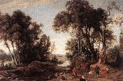 WILDENS, Jan Landscape with Shepherds oil painting