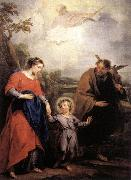 WIT, Jacob de Holy Family and Trinity oil painting reproduction