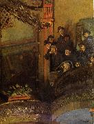 Walter Sickert The Old Bedford oil painting