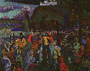Wassily Kandinsky Colorful Life oil painting