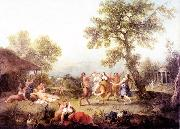 ZUCCARELLI  Francesco Bacchanal oil painting reproduction