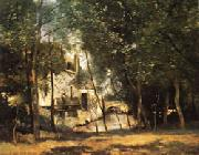 camille corot the mill of Saint-Nicolas-les-Arraz oil painting
