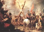 MURILLO, Bartolome Esteban The Martyrdom of St Andrew g oil painting reproduction