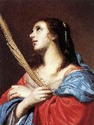OOST, Jacob van, the Elder Female Martyr aty oil painting