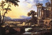 PATEL, Pierre Landscape with Ruins ag oil painting reproduction