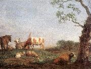 POTTER, Paulus Resting Herd a oil painting