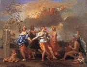 POUSSIN, Nicolas Dance to the Music of Time asfg oil painting