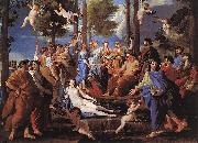 POUSSIN, Nicolas Apollo and the Muses (Parnassus) af oil painting