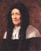 PUGET, Pierre Portrait of the Artist's Mother af oil painting